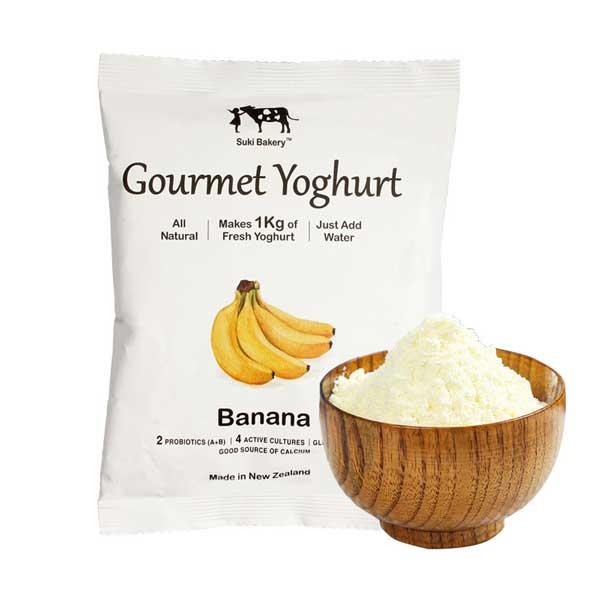 Banana Gourmet Instant Yoghurt Powder