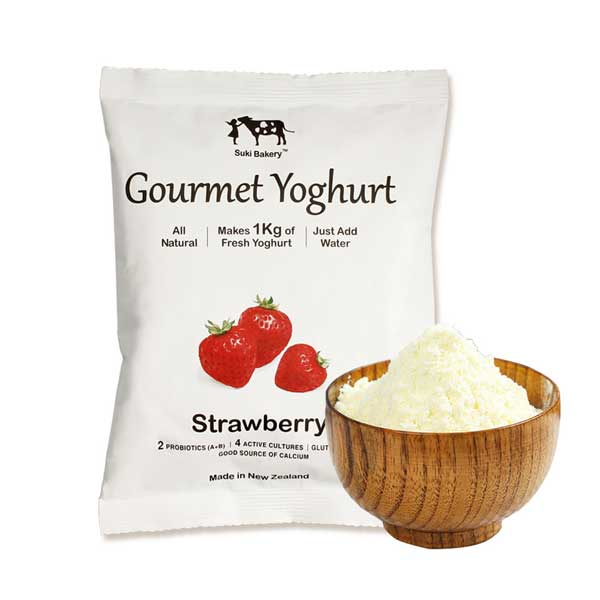 Strawberry Gourmet Instant Yoghurt Powder