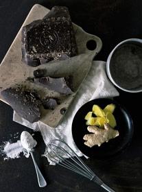 gourmet oreo cookie powdered ice cream sandwich
